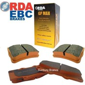 Daihatsu Charade brake  pads front 1987 to 1999  db1125