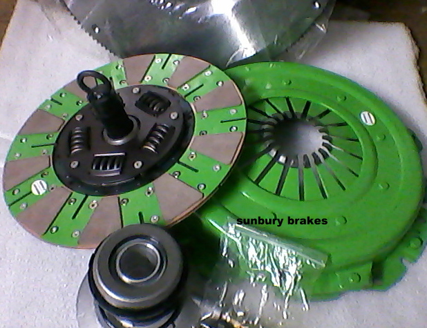 Ford xr6 Turbo CLUTCH KIT Barra  Cussion Button stage 2 ha2676ncb