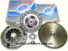 Ford Falcon XR6 Turbo CLUTCH KIT FG Barra Models EXEDY HD 5/2008 to 2014 FMK7892SMFHD