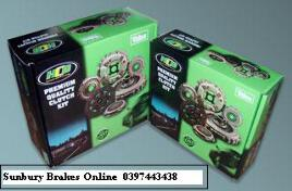 Toyota Landcruiser CLUTCH KIT 5 cyl Diesel Year Jan 1990 to Dec 1991 Solid Flywheel Models TYK26006