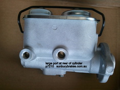 Holden TORANA BRAKE MASTER CYLINDER LH  Models 3/1974 to 2/1976 P7210