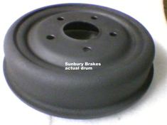 Holden HD HR Brake Drums rear 1965 to 1968  DR6783x2