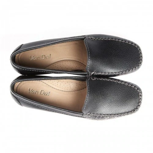 2a4656f20f Van Dal Sanson Black Leather Loafer Shoes