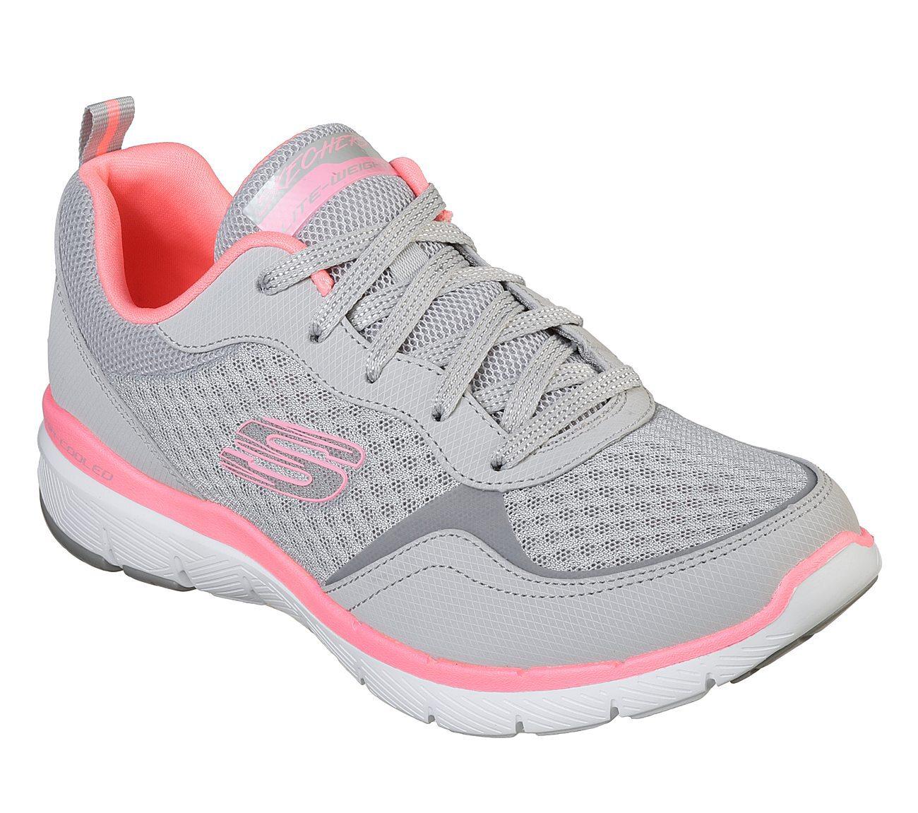 Skechers Ladies 13069 Flex Appeal Grey
