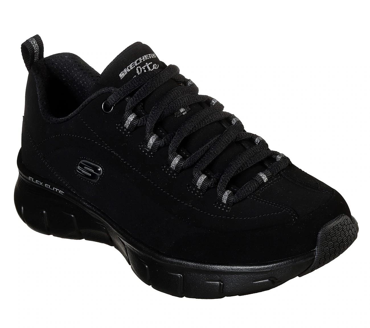 Black Nubuck Leather Lace Up Shoes