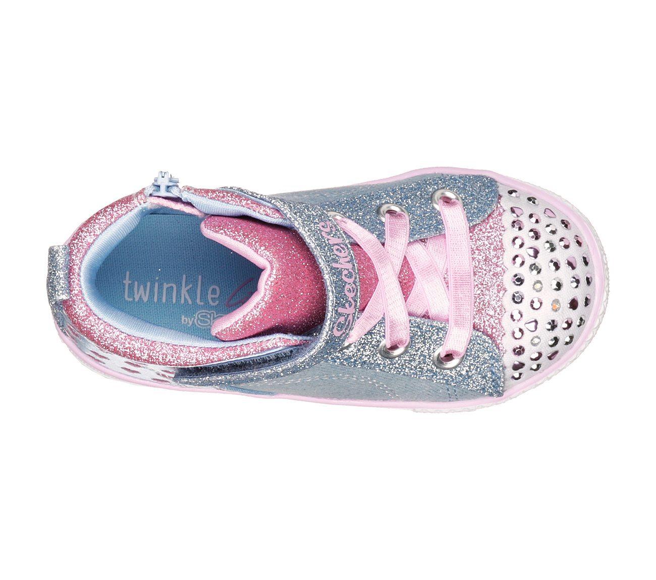 Skechers Kids Shuffle Lite-Dainty Denims Sneaker