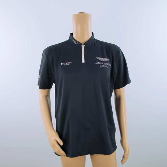 Gebraucht Aston Martin Racing Polo Shirt Dunkelblau 2014 Ebay