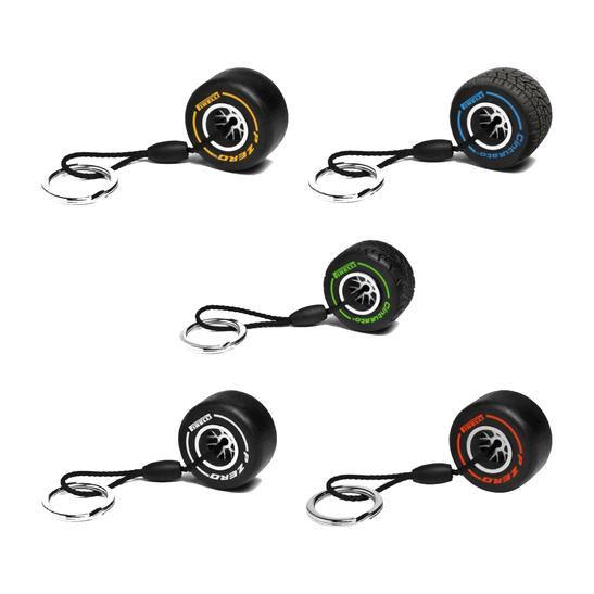 Pirelli Soft Tyre F1 Keyring Ebay