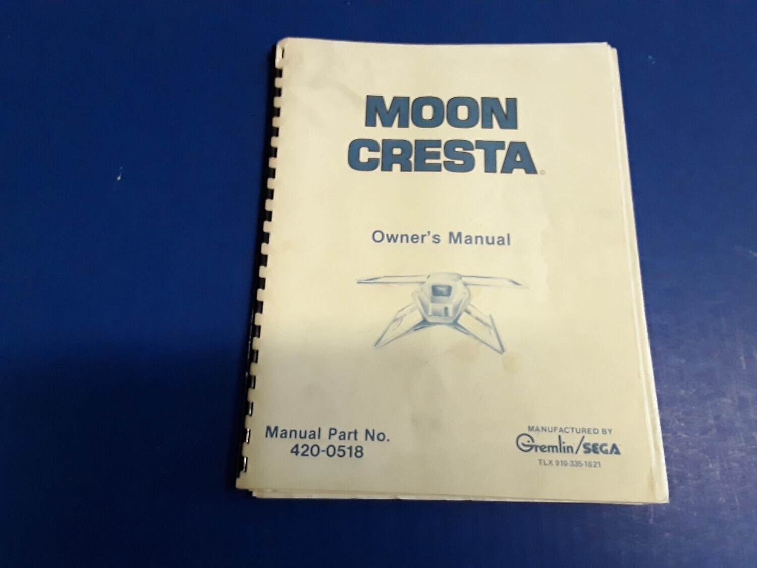 You Choose Which One. Decent Condition Sega Gremlin Video Game Manuals