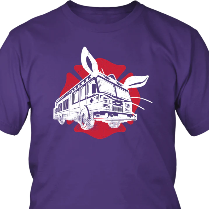 Cool Bunny Shades Funny Easter Joke T-Shirt Unisex Adults Black T-Shirt