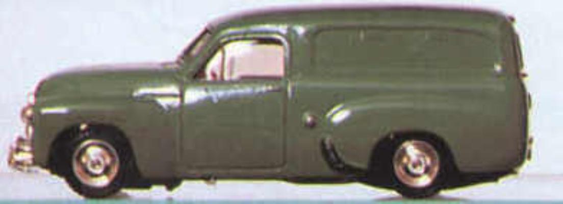 FJ Van - Dark Green