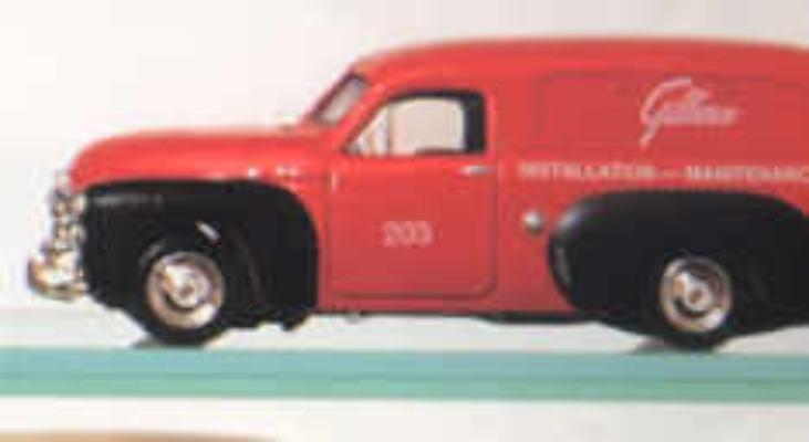 FJ Van - Gilbarco Red/Black