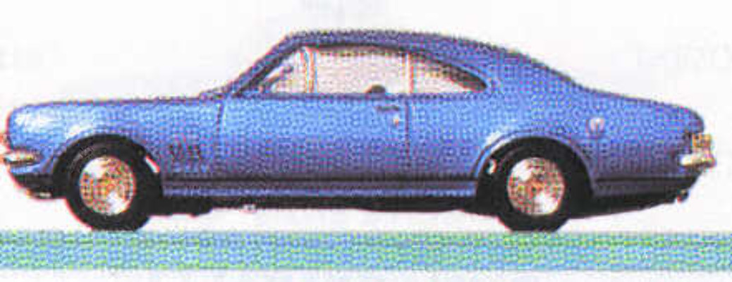 HK Monaro - Metalic Blue