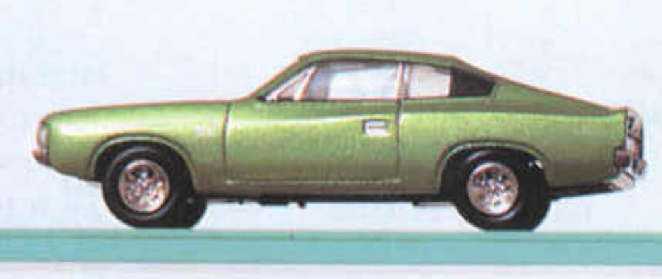 Charger - Metalic Green