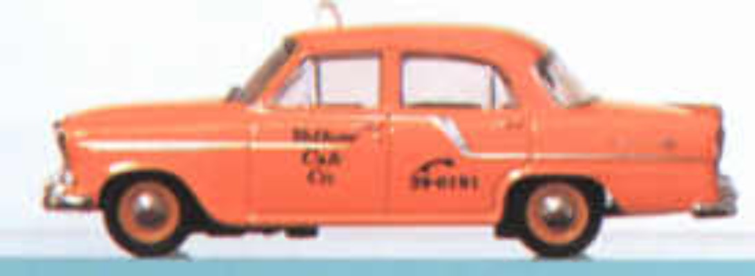 FC Holden - Yellow Taxi