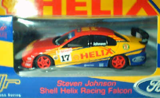 1:43 Classic Carlectables 2017-7 Steven Johnson Shell Helix Racing