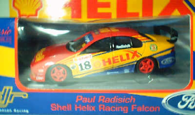 1:43 Classic Carlectables 2018-4 Paul Radisich Shell Racing Falcon