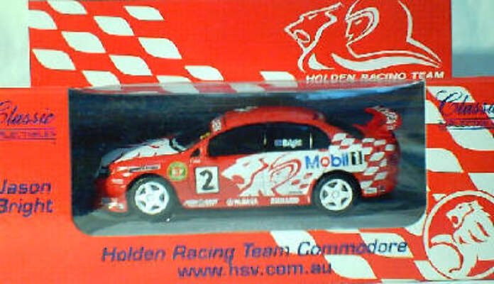 1:43 Classic Carlectables 1002-2 Jason Bright Holden Racing Team