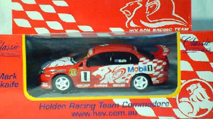1:43 Classic Carlectables 1001-7 Mark Skaife Holden Racing Team