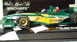 1:43 2001 Australian GP Event Car in Special Box