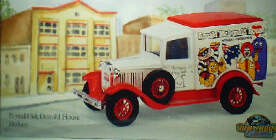 McDonald House Hobart - Model A Ford
