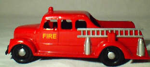 Micro Morris Fire Engine