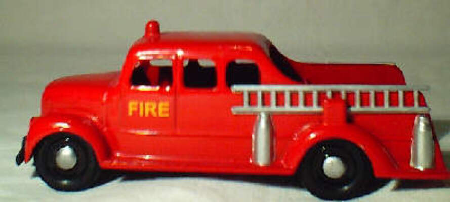 Micro Morris Fire Engine