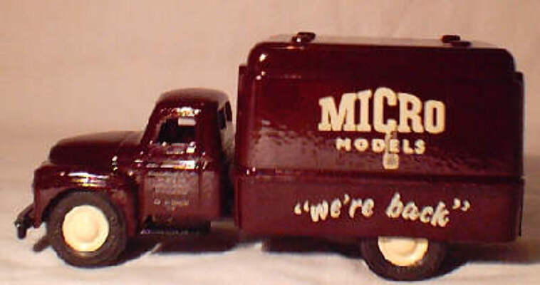"Micro International Delivery Truck ""Were Back"""