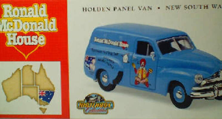 McDonald House NSW - Holden Panel Van