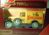 Y22 Model A Van - Toblerone