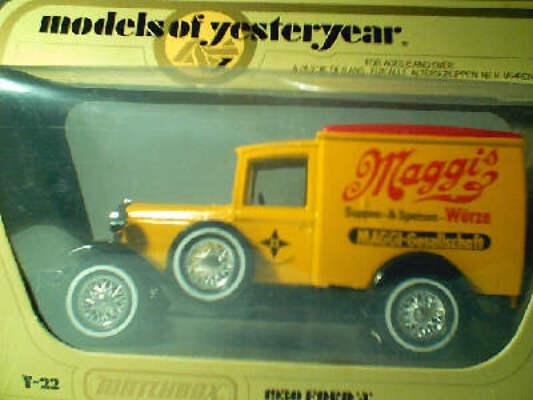 Y22 Model A Van - Maggi