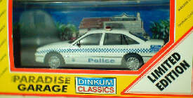 Qld Police  Holden Berlina VS
