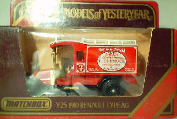 Y25 Renault Type AG - T. Tunnock