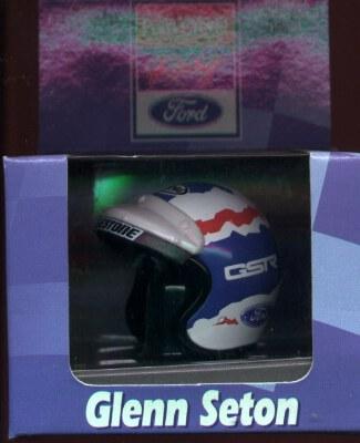 5003 Helmet - Glenn Seton 'Ford Credit' white 1/6th scale
