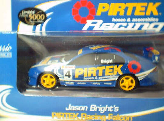 1:43 Classic Carlectables 2004-2 Jason Bright Pirtek Falcon