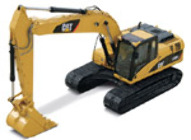 CAT 1:50 55215 323DL HYDRAULIC EXCAVATOR