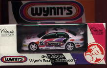 1:43 Classic Carlectables 1012 VT Holden Commodore Wynns Racing G.Murphy No.12