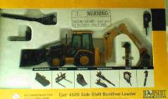 CAT 1:50 Side Shift Backhoe Loader
