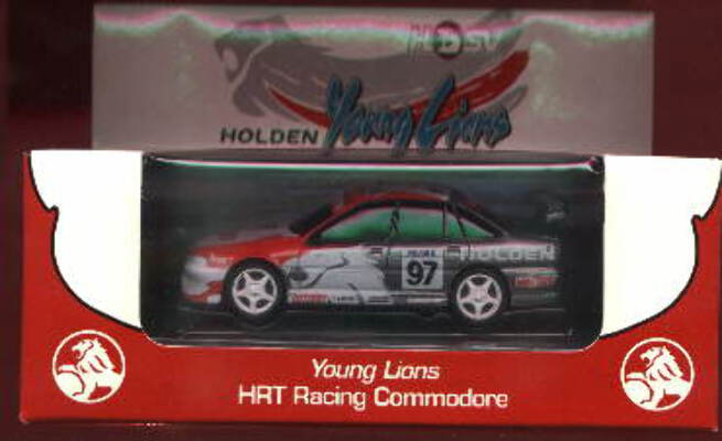1:43 Classic Carlectables 1097 VR Holden Commodore Young Lions Holden Racing Team 'HSV'