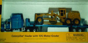 CAT 1:64 Hauler with 12h Motor Grader