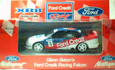 1:43 Classic Carlectables 2005 EL Ford Falcon 'Ford Credit' Racing 98 G.Seton/N.Crompton No.5