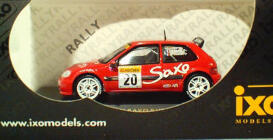 Citroen Saxo Super 1600 #20 MC 2001