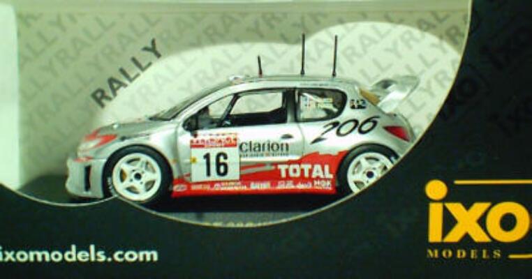 Purgeot 206 Winner Sanremo Rally 2001