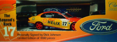 43034 Dick Johnson Legends Back - Blue Roof