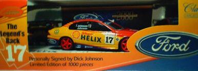 43034 Dick Johnson Legends Back - Blue Roof