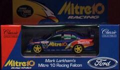 1:43 Classic Carlectables 2010-1 Mark Larkham Mitre 10 Falcon