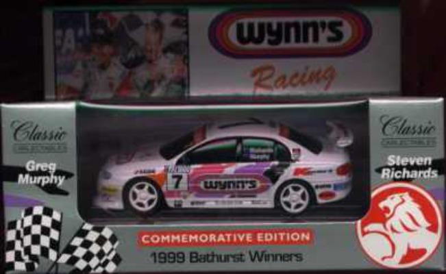 1:43 Classic Carlectables 1007-3 Murphy/Richards Bathurst 1999 Winner