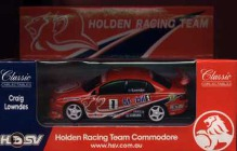 1:43 Classic Carlectables 1001-5 Craig Lowndes HRT Racing Commodore