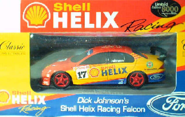 1:43 Classic Carlectables 2017-3 Dick Johnson AU Falcon