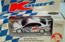 1:43 Classic Carlectables 1012-1 Greg Murphy Kmart Commodore